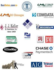 Logos of UMA services