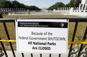 All National Parks are Closed, Photo credit: Reuters